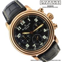 Blancpain Leman 2185F-3630-555 chronograph Flyback pink gold 18k