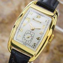 Bulova Rare Beautiful 1950s Mid Size Manual Gold Filled Swiss...
