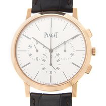 Piaget Altiplano 18k Rose Gold Silver Automatic G0A40030