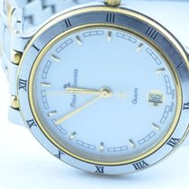 Maurice Lacroix Herren Uhr 34mm Stahl/gold Quartz Rar 1  Calypso