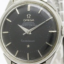 Omega Constellation Pie Pan Dial Cal 552 Rice Bracelet Watch...