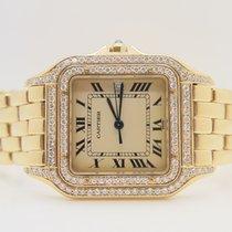 Cartier Panthere 18k Yellow Gold, Aftermarket Diamond