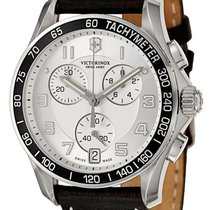 Victorinox Swiss Army Chrono Classic Steel Mens Strap Watch...