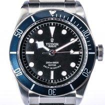 Tudor Heritage Black Bay Blue Stahl Automatik Armband Stahl 41mm