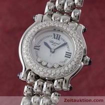 Chopard Lady Happy Sport Diamanten Damenuhr Edelstahl 27/8294-23