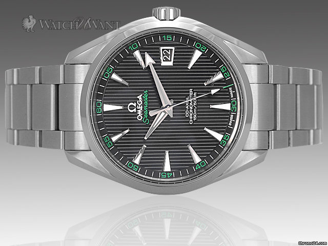 Omega Seamaster Aqua Terra Automatic CoAxial - Golfing Green Limited Edition &amp;amp; Just Released - 41.5mm Stainless Steel - Ref: 231.10.4221.01.001 - Brand New In Box