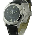 Panerai PAM 310 Luminor Chronograph 40mm - Steel on Strap with...