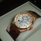 Audemars Piguet Royal Oak Dual Time w/ Power Reserve ,Silver...