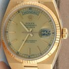 Rolex 19018 Oysterquartz Day/Date, Yellow Gold