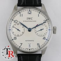 IWC Portuguese 7 Days  Reserve, box+papers