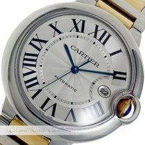 Cartier Ballon Bleu de Cartier Stahl / Gold W69009Z3