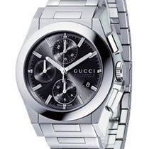Gucci 115 Pantheon Black Anthracite Dial Automatic Men's...