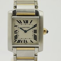 Cartier Tank Francaise Medium Quarz- Stahl/Gold