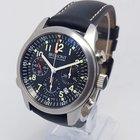 Bremont ALT1-P Pilots Mens 43mm Steel Chronograph Watch Full Set