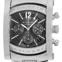 "Bulgari Gent's Stainless Steel  ""Assioma"" Chronogr..."