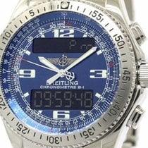 Breitling Professional B-1 Steel Quartz Mens Watch A78362...