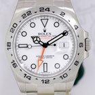 Rolex Explorer II weiß white Dial Klassiker Orange Hand 42mm...