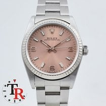 Rolex OYSTER Midsize Gold Bezel, box+papers