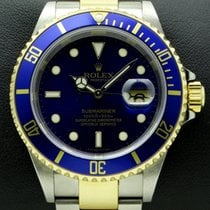 Rolex Submariner Steel and Gold, Blue Dial, ref. 16613,