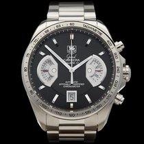 TAG Heuer Grand Carrera Calibre 17 Stainless Steel Gents CAV511A