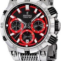 Festina Chrono Bike 2014 F16774/8 Herrenchronograph Massives...
