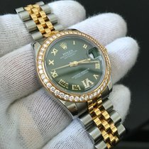 Rolex Datejust 178383 Two Toned Diamond Dial Complete Set