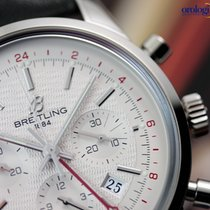 Breitling Men's Transocean Chronograph GMT Limited Steel...