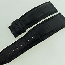 Jaeger-LeCoultre New   23mm Black Alligator Watch Band / Strap