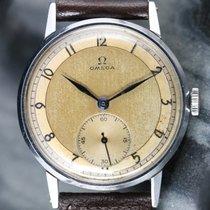 Omega JUMBO OVERSIZE 37.5MM CALATRAVA 1940's 30T2  Vintage...