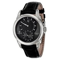 Perrelet Jumping Hour Black Dial Automatic Men's Watch