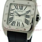 Cartier Santos 100 Extra Large Automatic, Silver Dial -...