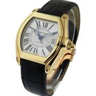 Cartier Roadster Large in Yellow Gold - Yellow Gold on Strap...