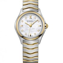 Ebel Wave Lady Steel Gold Case, Mother of Pearl Dial, Quartz