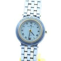 Maurice Lacroix Calypso Damen Uhr Stahl/gold Quartz 25mm Mit...