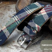 Apple Dundee Tartan Pattern Watch Band with Adapter