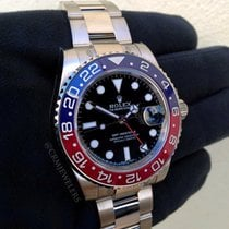 Rolex GMT-Master II White Gold Blue and Red