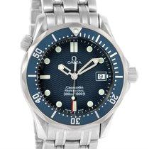 Omega Seamaster James Bond Midsize 300m Watch 2561.80.00 Box...