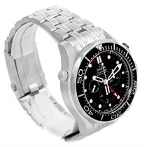 Omega Seamaster Diver 300m Co-axial Gmt 44mm Watch 212.30.44.5...