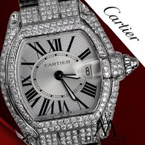 Cartier Ladies Diamond Cartier Roadster Small Size  W62016v3...