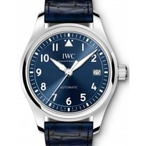 IWC Schaffhausen IW324008 Pilot's Watch Automatic 36 Blue...