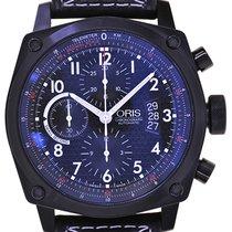 Oris Mans Automatic Wristwatch BC4 Chronograph DLC