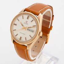 Omega Seamaster Automatic 9k yellow gold day date 1973