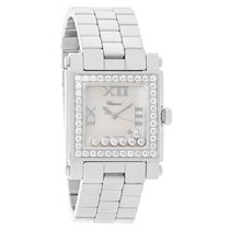 Chopard Happy Sport Ladies MOP Dial Floating Diamond Watch...