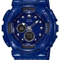 Casio Womens Baby-G - Blue Case and Strap - World Time -...