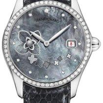 JeanRichard Bressel 1665 Women's Diamond MOP watch List...