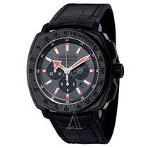 JeanRichard Men's Terrascope Chrono Carbon Arsenal Watch