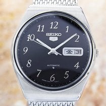 Seiko 5 Made in Japan Mens Rare Automatic 37mm Stainless Steel...