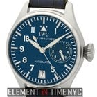 IWC Pilot Collection Big Pilot Platinum Blue Dial LTD E...