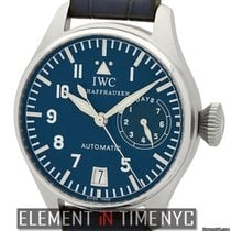 IWC Pilot Collection Big Pilot Platinum Blue Dial LTD ED
