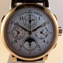 A. Lange & Söhne 1815 Rattrapante Perpetual Pink Gold -...
